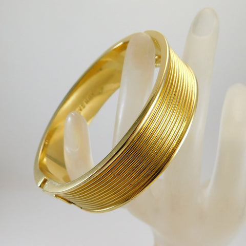 Ann Taylor Ribbed Bangle Bracelet