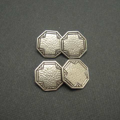 Art Deco Sterling Cufflinks 1