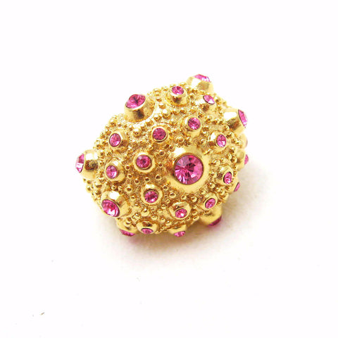 Pink Crystal Ring Hutchinson Sea Urchin
