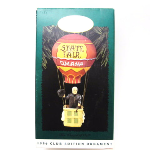 Hallmark Ornament 1996 Club Edition Wizard in Balloon