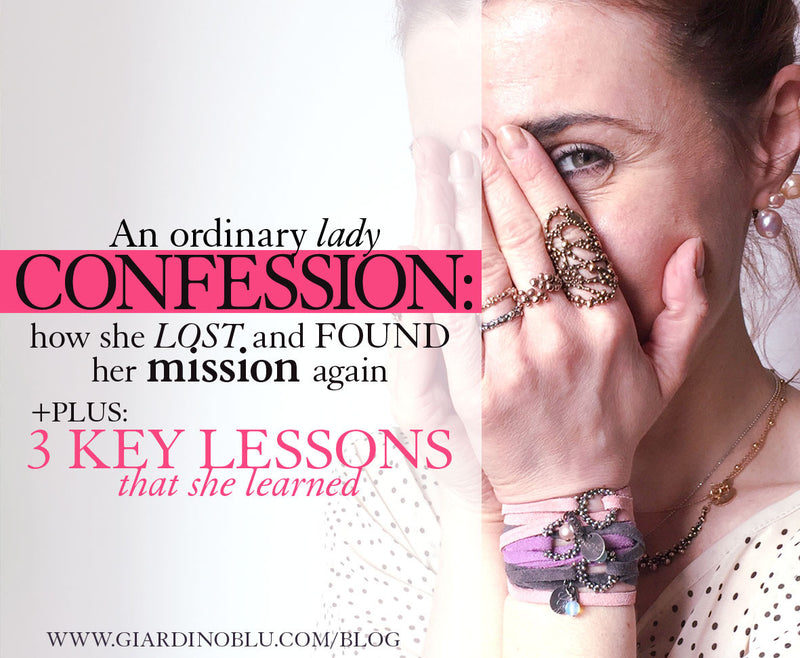 How an ordinary lady reconnected with her mission + 3 key life lessons she learned