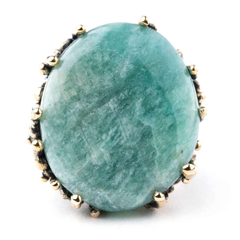 Amazonite Ring - One of a Kind
