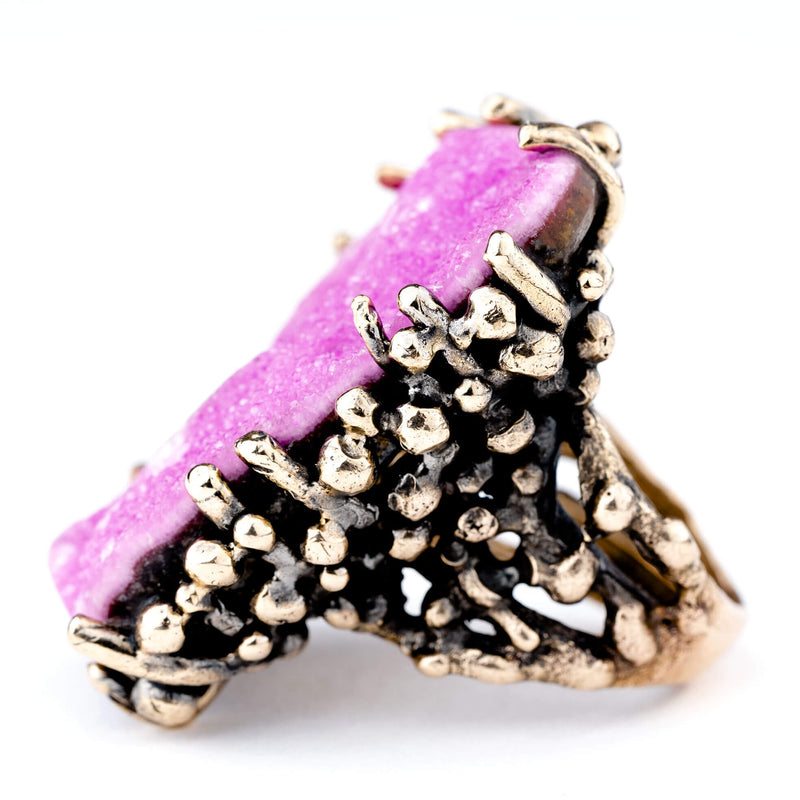 Cobalto Calcite (Cobaltocalcite) Ring - One of a Kind