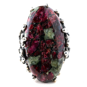 Eudialyte Ring - One of a kind