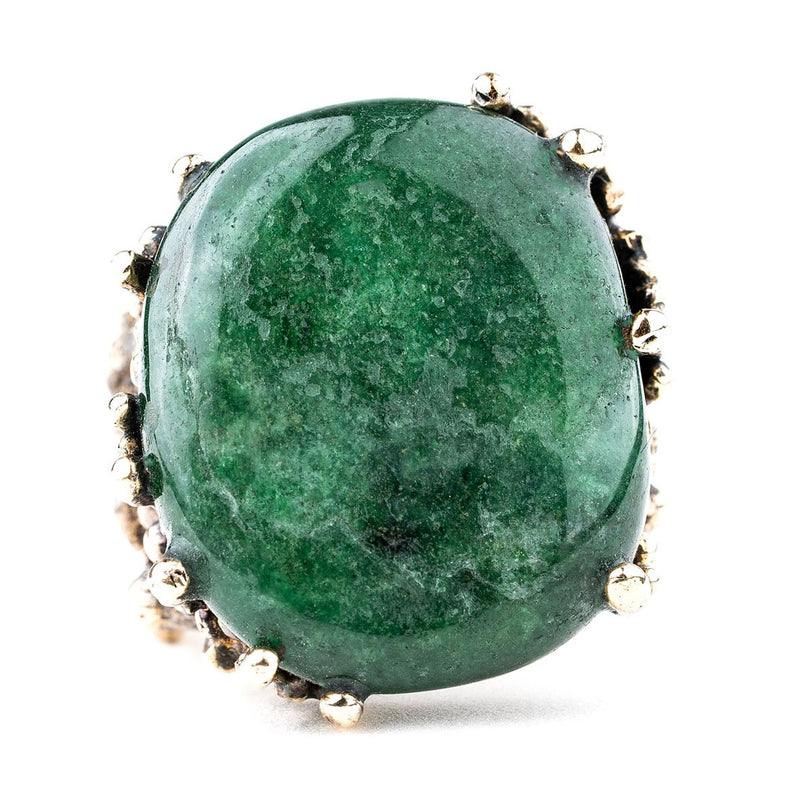 Aventurine Statement Ring - One of a Kind