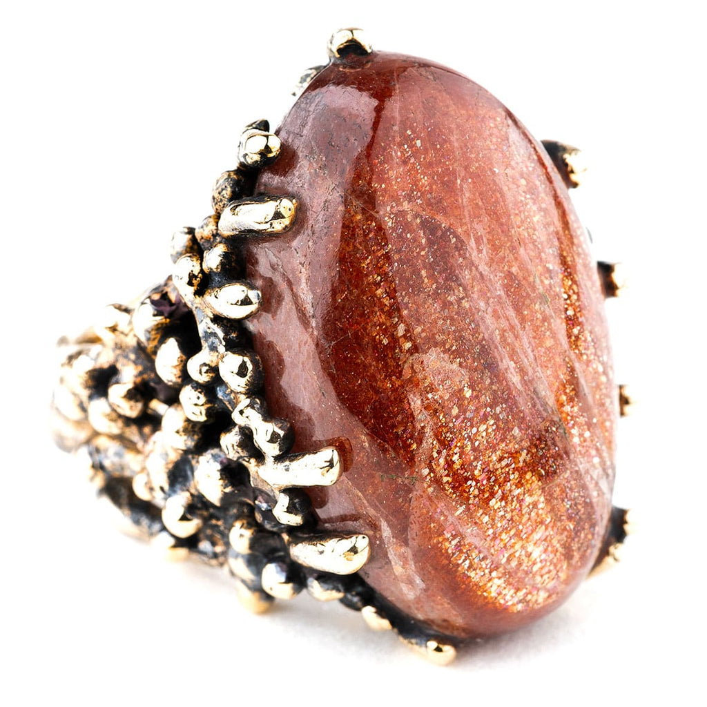 Sunstone Statement Ring - One of a Kind