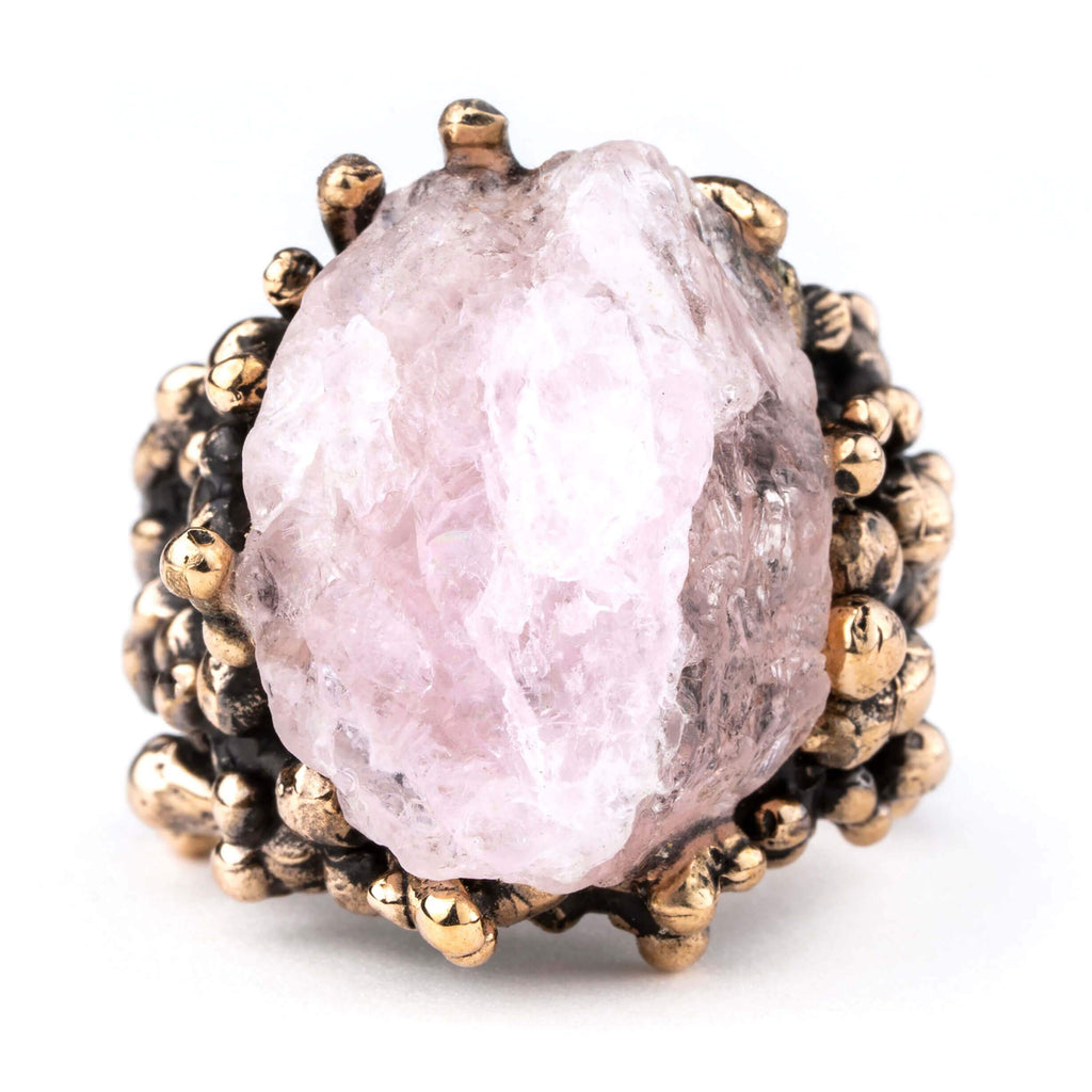 Morganite Ring - Unique Piece