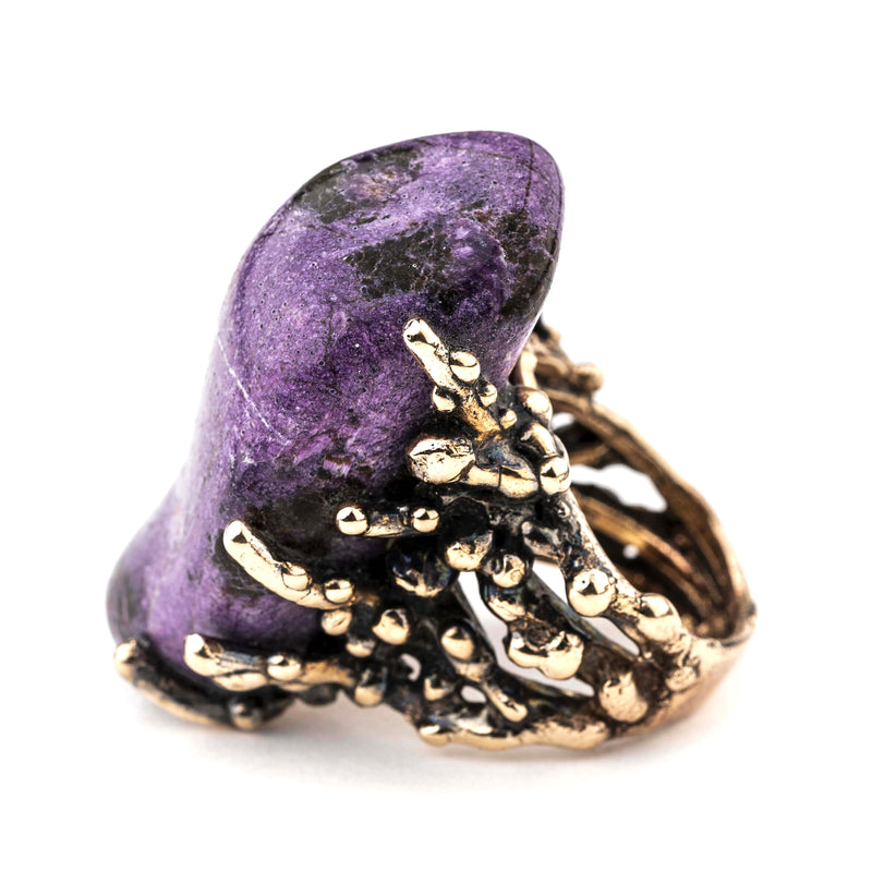 Stichtite Ring - Unique Piece