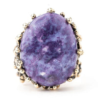 Purple Opal Ring - Unique Piece