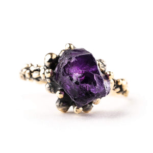 Amethyst Band Ring - One of a Kind