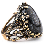 Bronzite Statement Ring - One of a Kind