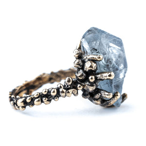 Celestine Band Ring - One of a Kind by Giardinoblu