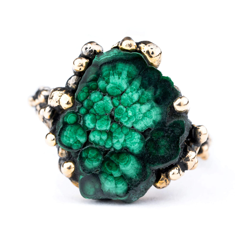Malachite Band Ring - One of a Kind