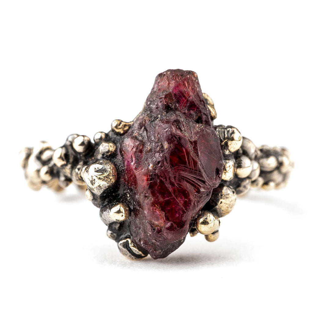 Ruby Band Ring - One of a Kind