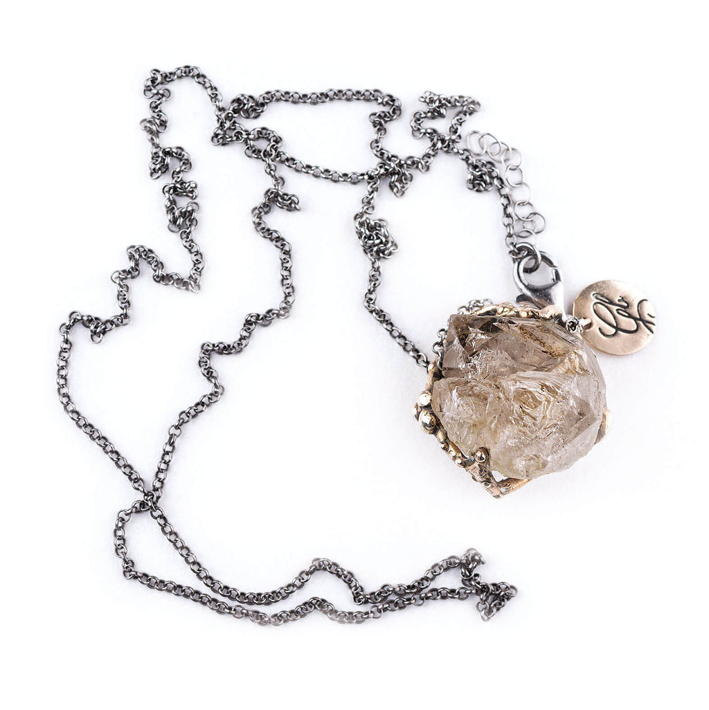 Elestial Quartz Necklace
