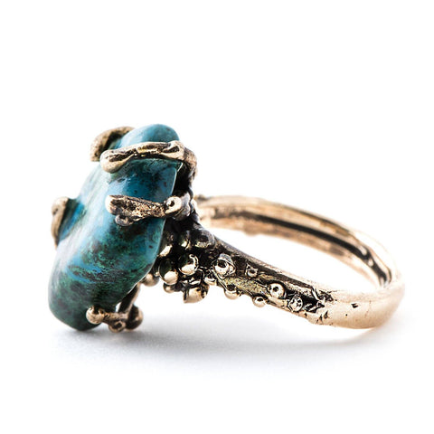 Chrysocolla Ring - One of a kind
