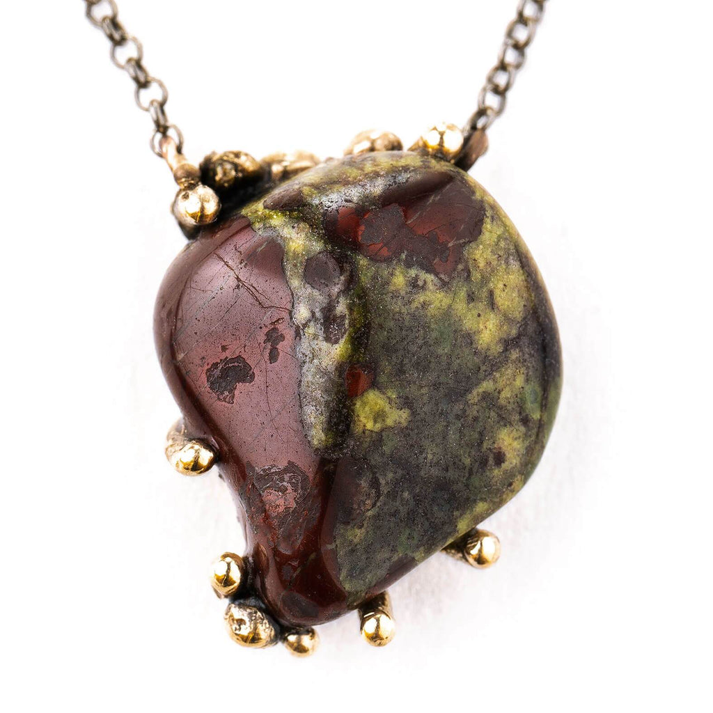 Dragon Stone Necklace - One of a Kind