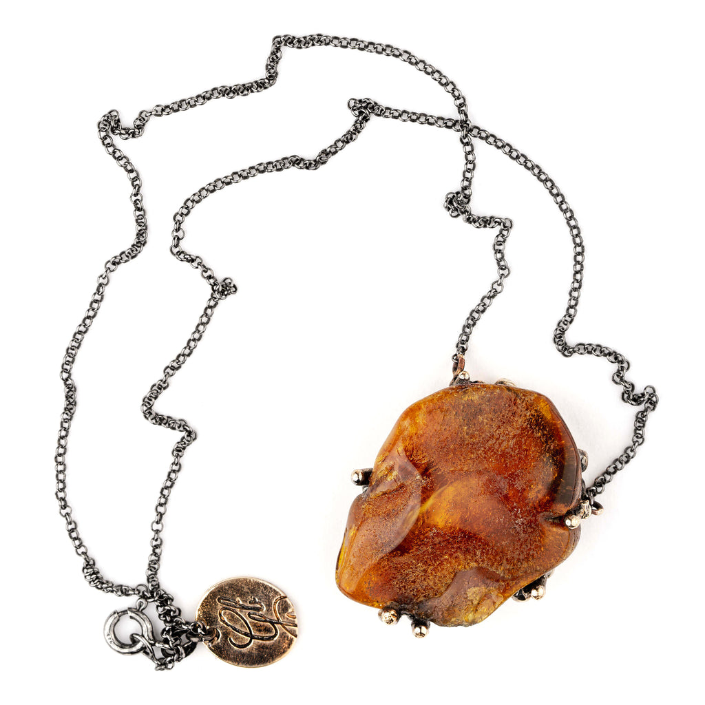 Amber Necklace - Unique Piece