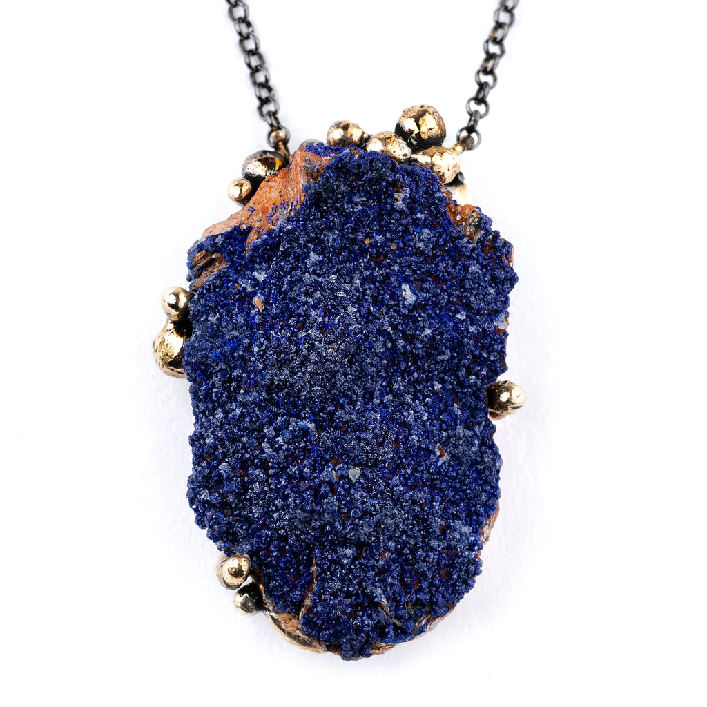 Azurite Necklace - Unique Piece