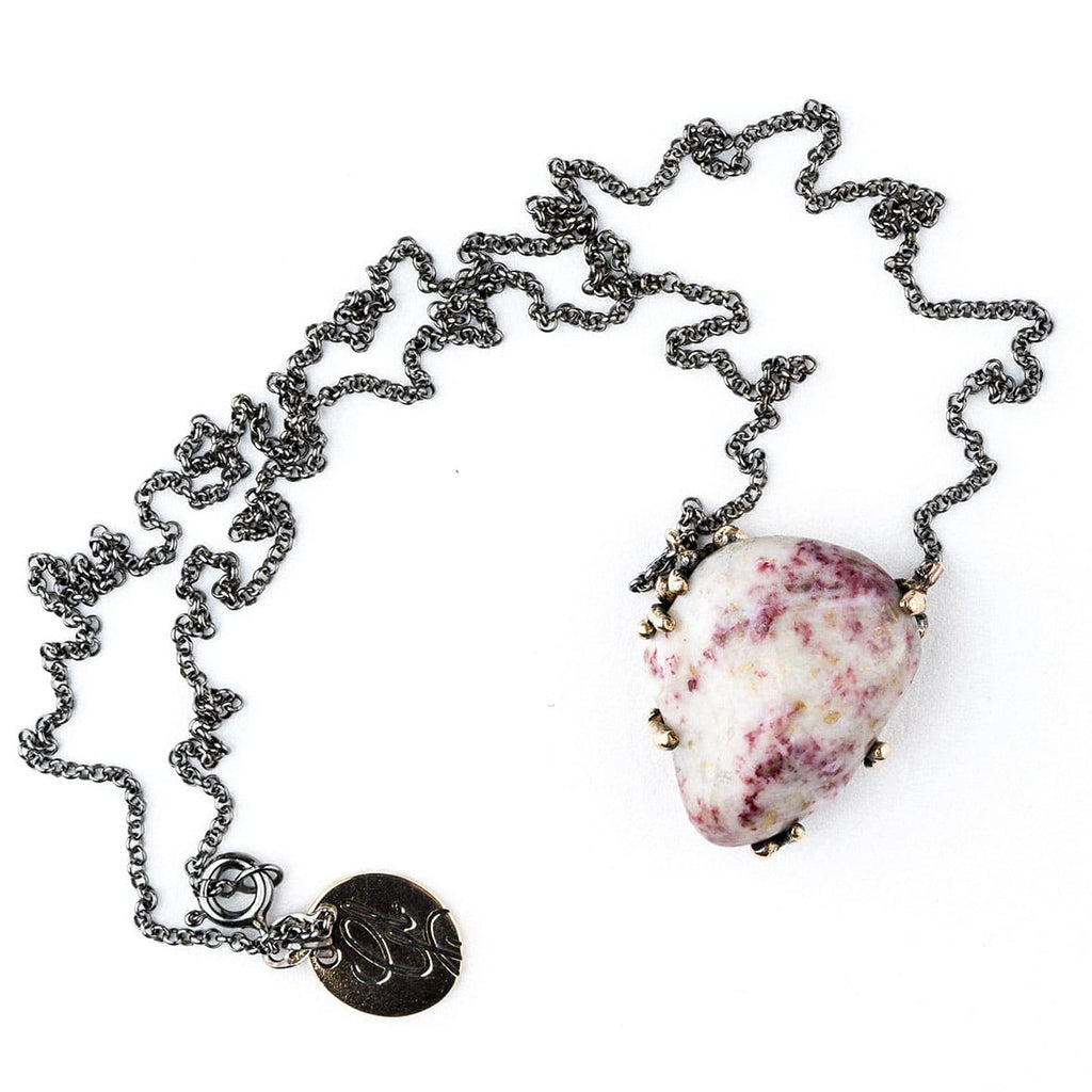 Cinnabar Necklace (in Quartz) - One Of a Kind