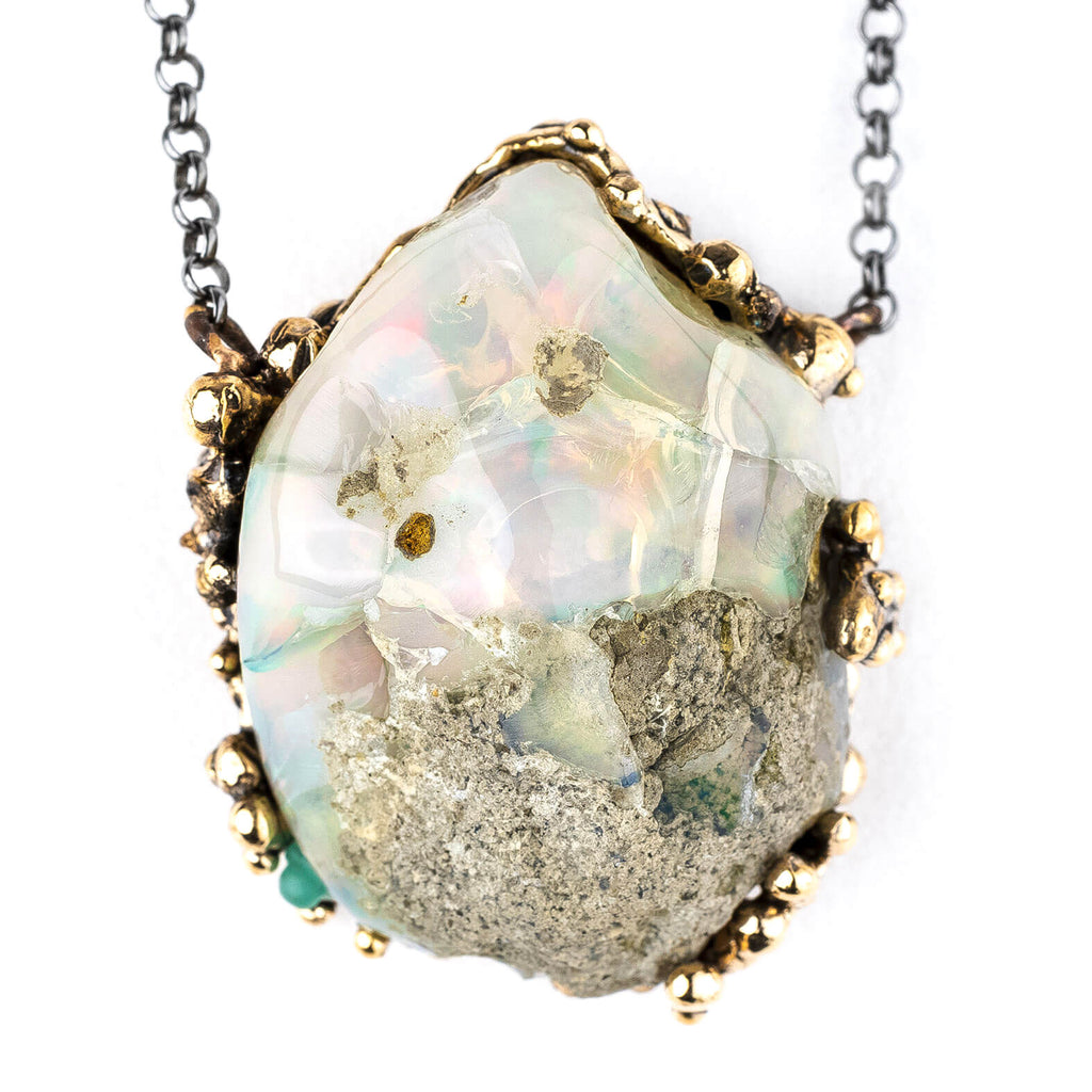 Nobile Opal (from Etiopia) Necklace - Unique Piece
