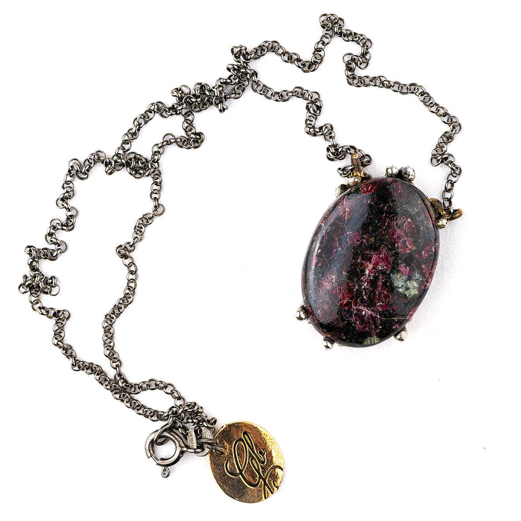 Eudialyte Necklace - One Of a Kind