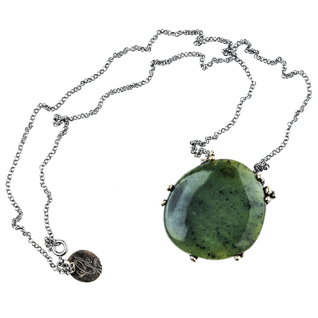 Nephrite Jade Necklace - One Of a Kind