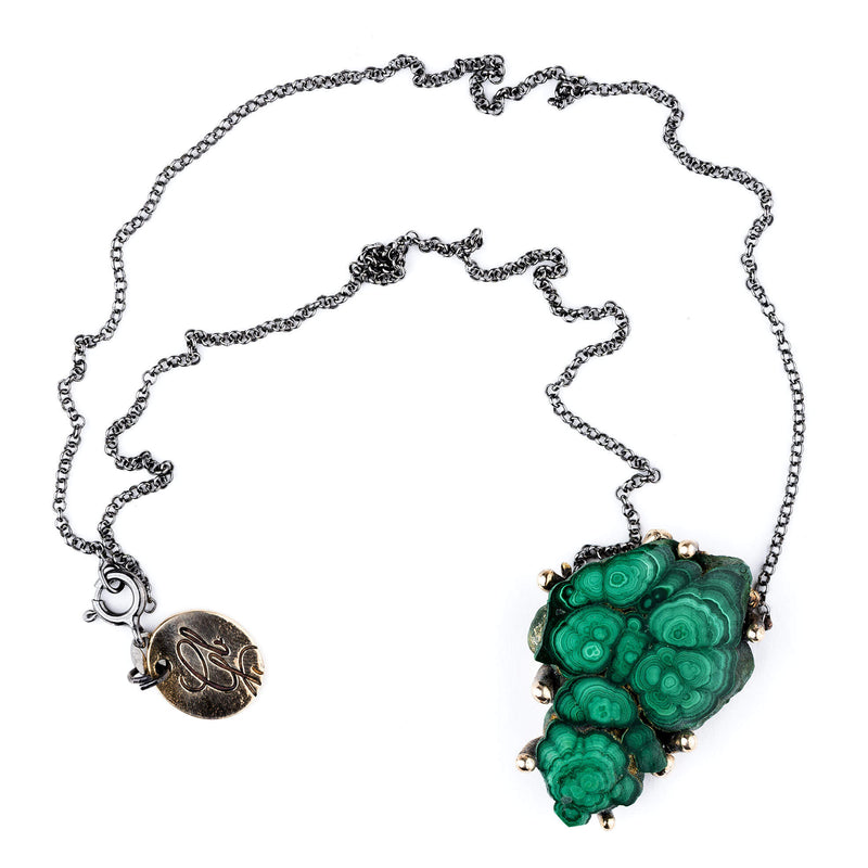 Malachite Necklace - One of a Kind
