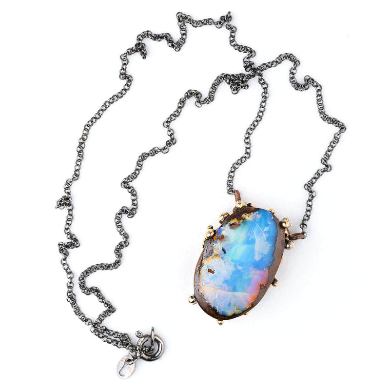 Nobile Opal (from Australia) Necklace - Unique Piece