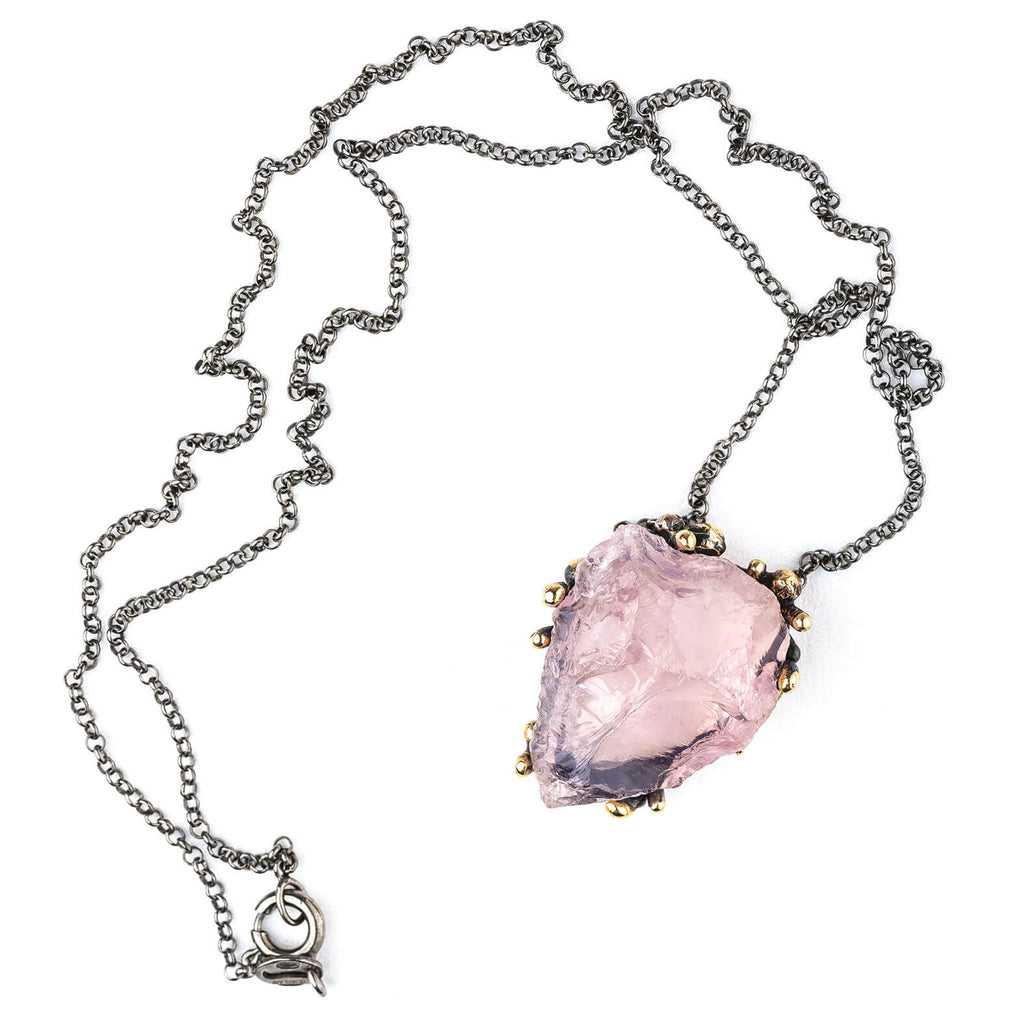 Rose Quartz Necklace - One of a Kind