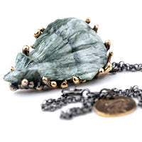 Seraphinite Necklace - One of a Kind