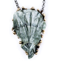 Seraphinite Necklace - Unique Piece