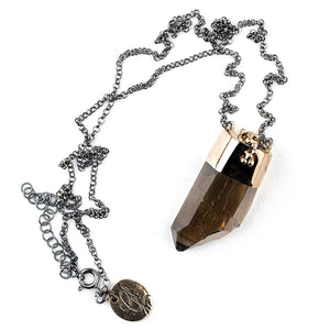 Smoky Quartz Necklace - Unique Piece