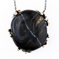 Stromatolite Necklace - gemstone jewel for healing