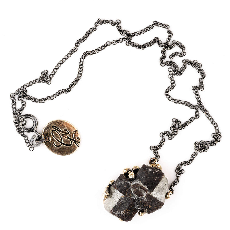 Staurolite Necklace - Unique Piece