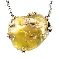 Yellow Opal Necklace - One Of a Kind