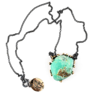 Chrysopal Necklace - spiritual healing jewelry