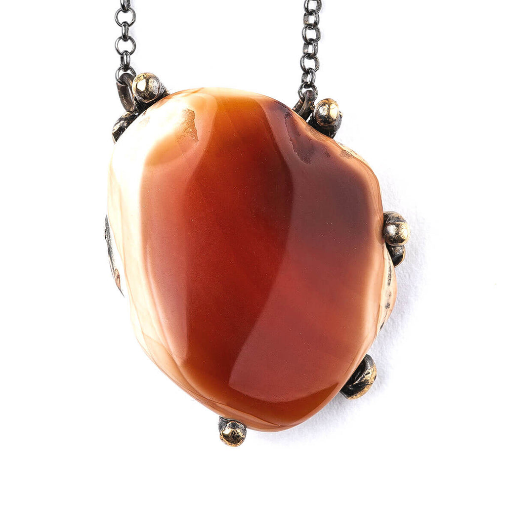 Carnelian Necklace - One of a Kind