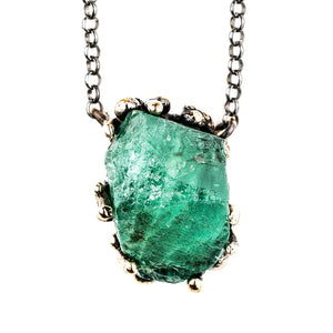 Emerald Necklace - One of a Kind