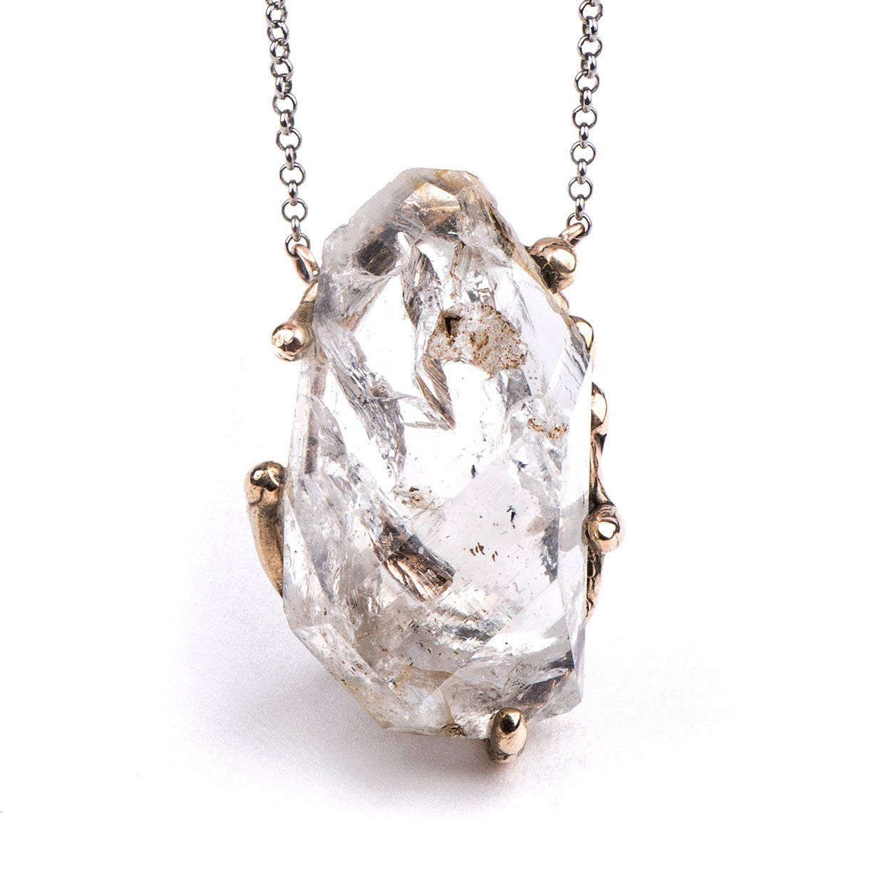 Herkimer Diamond Necklace - One of a kind for men and women