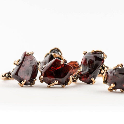 Garnet Ring - One of a kind