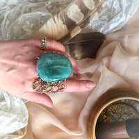 Amazonite Statement Ring - One of a Kind