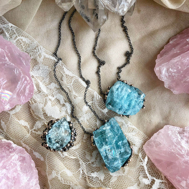 Aquamarine Necklace - One of a Kind