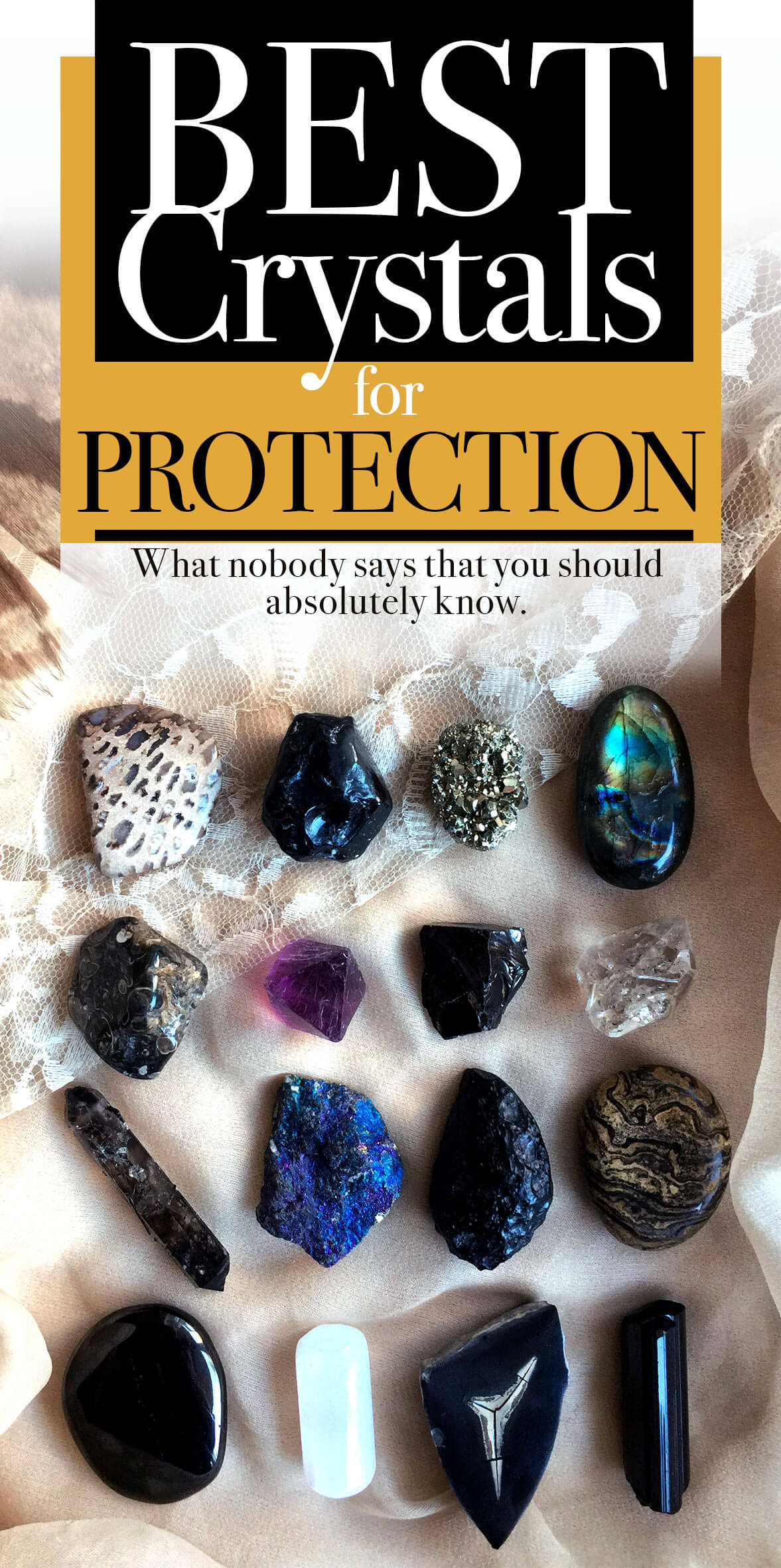 Best Crystals & Stones for Protection