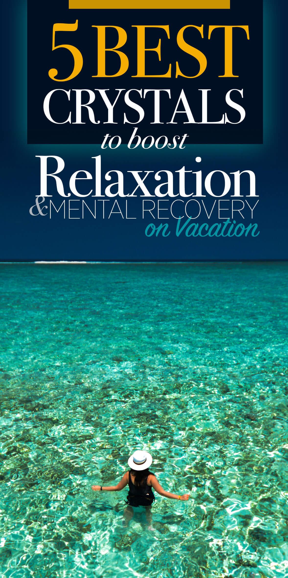 best crystals for melt stress and anxiety on vacation