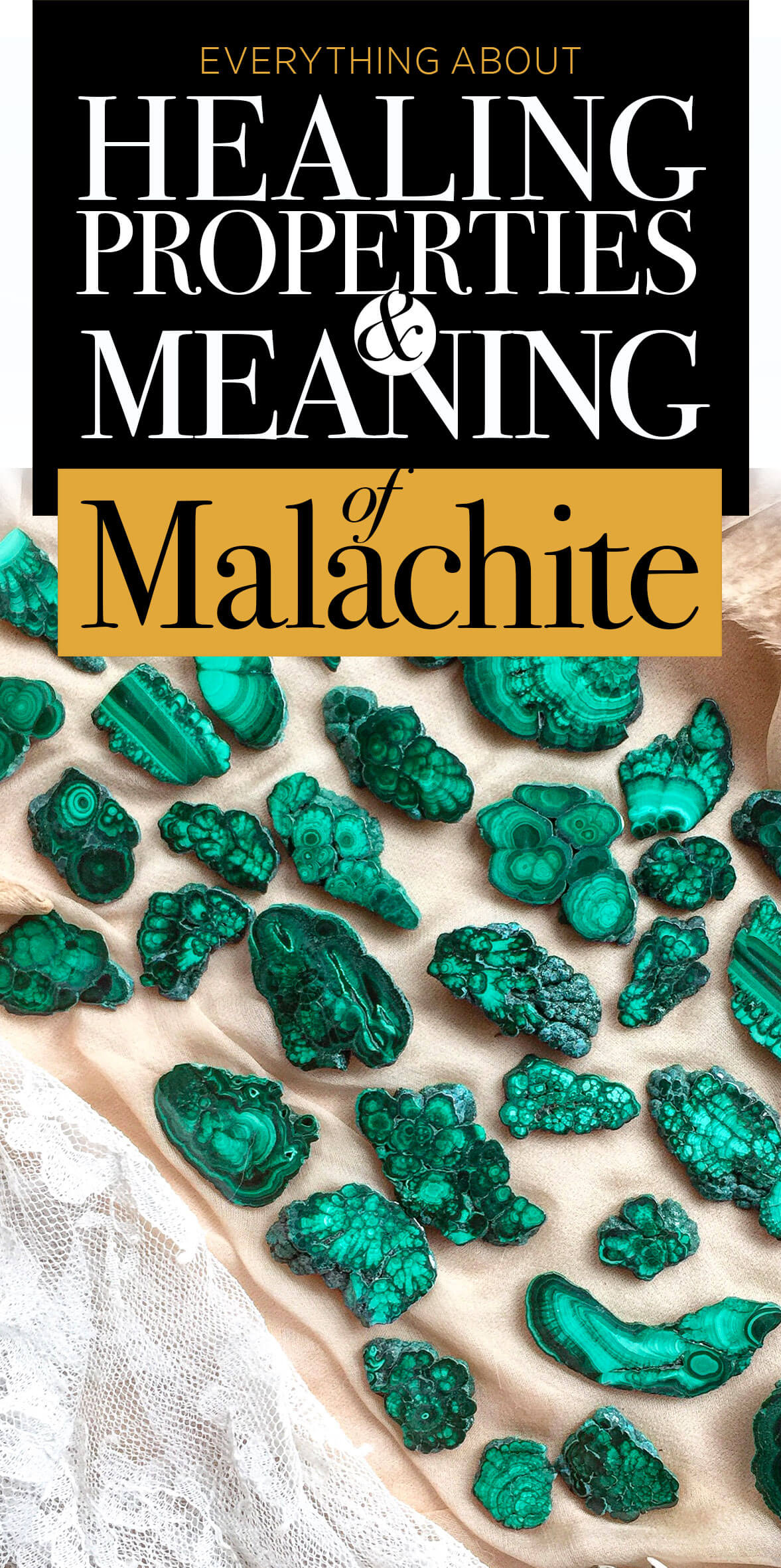 Malachite properties and meanings