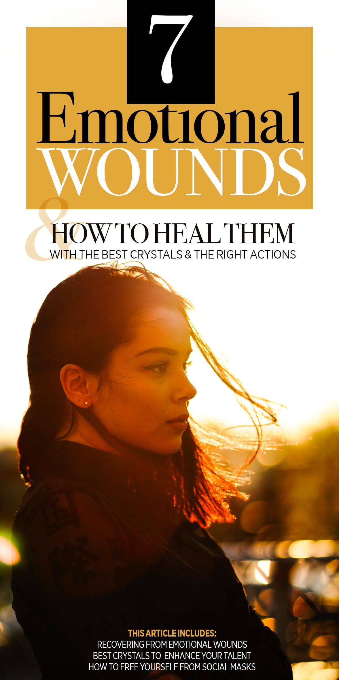 the seven emotional wounds and how to heal them