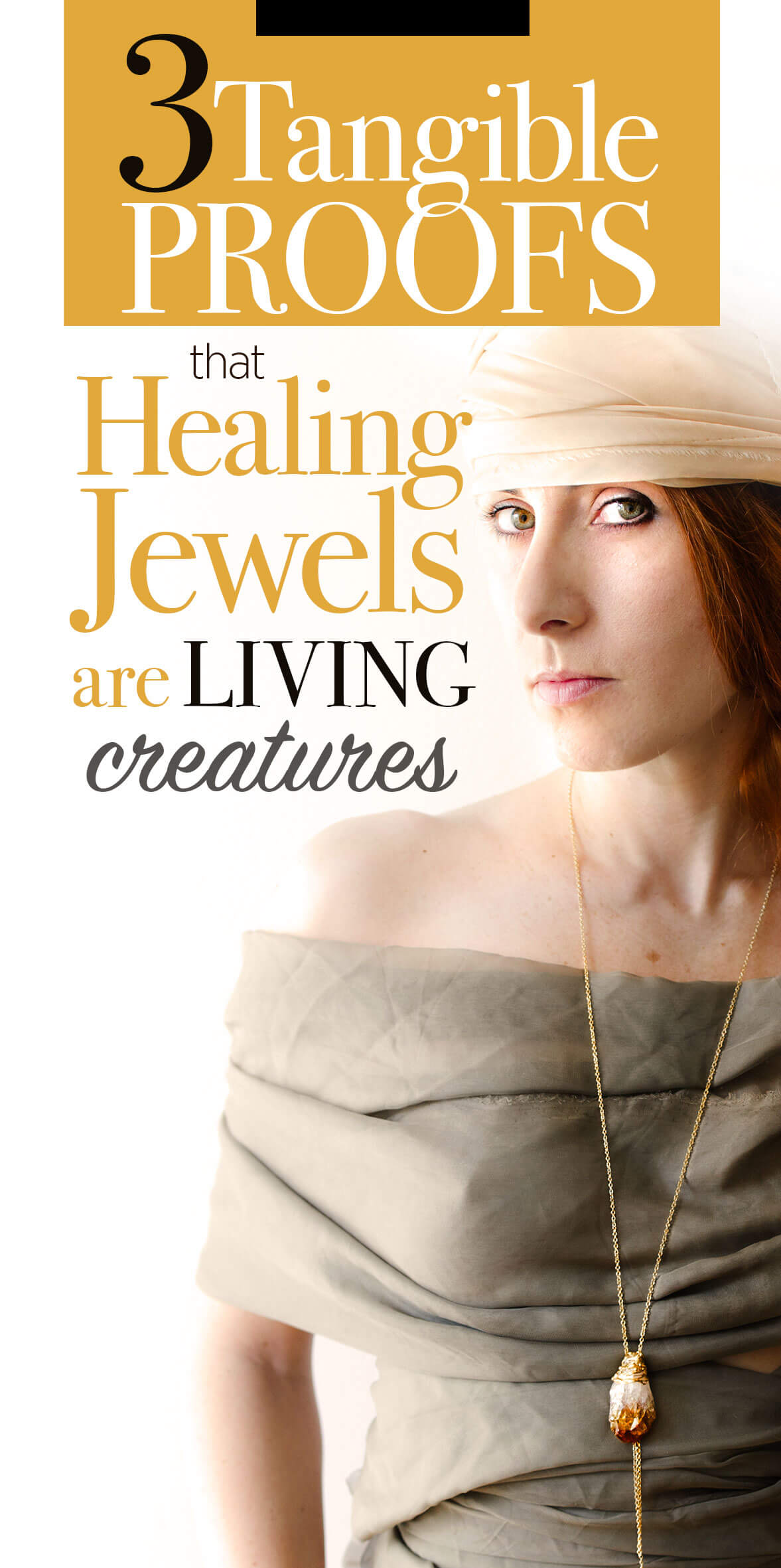 Crystal Healing Jewels Are Living Creatures