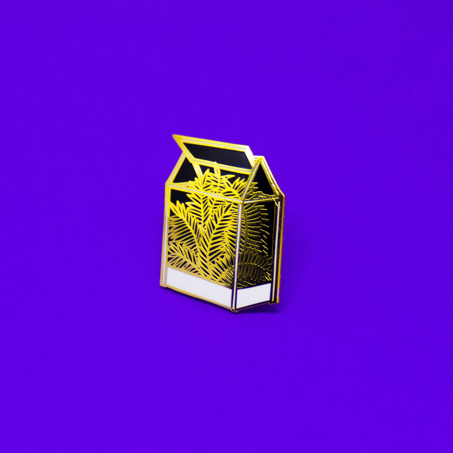 Artist Series: Tiny Blades Project Enamel Pin