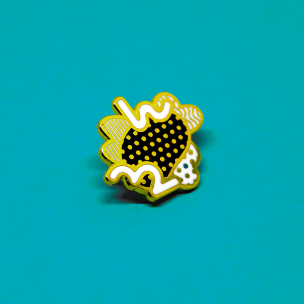 Much too Much Enamel Pin